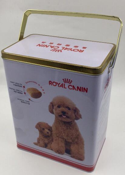AF1702K (hold2KG) pet food container Metal tin