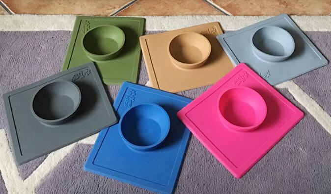 Microwave Safe Silicone Pet Plate