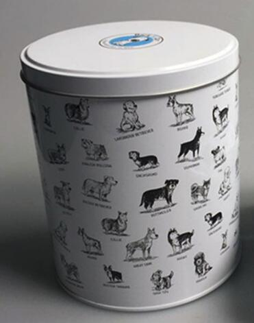 AFSYHL121 metal pet food container