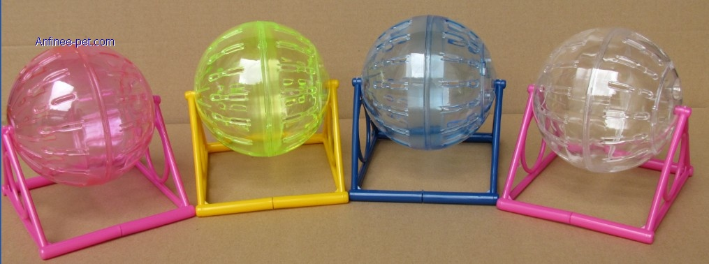 Hamster Running ball With stand(AFB004 and AFB005)
